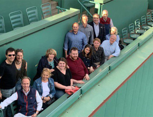 FSWA tours Iconic Fenway Stadium